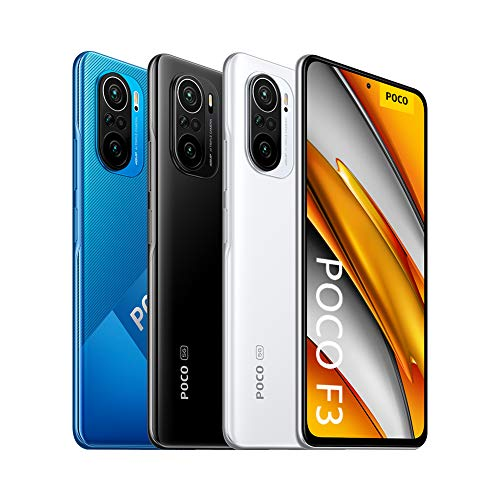 "POCO F3 - Smartphone 8+256GB, 6,67"" 120Hz AMOLED DotDisplay, Snapdragon 870, 48MP Triple Caméra, 4520mAh, Noir Nuit (Version français + 2 ans de garantie)"
