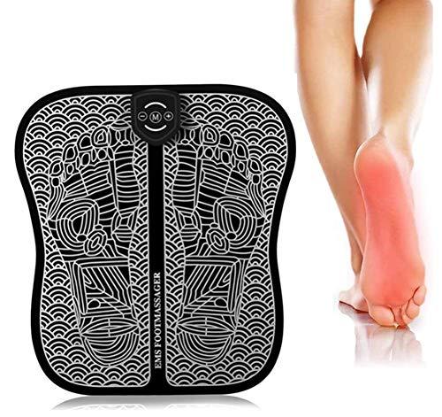 Phil Beauty Elektrische Fußmassageräte Niederfrequenzimpulse Muskelstimulation (EMS-Technologie) USB-Aufladung Für Senioren, Tänzer Und Langzeitsitzen/Stehen,32.5X29.5Cm