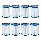 8 Stück Bestway Filter Kartuschen für Pool Swimmingpool Pumpen Bestway / Gr. 2