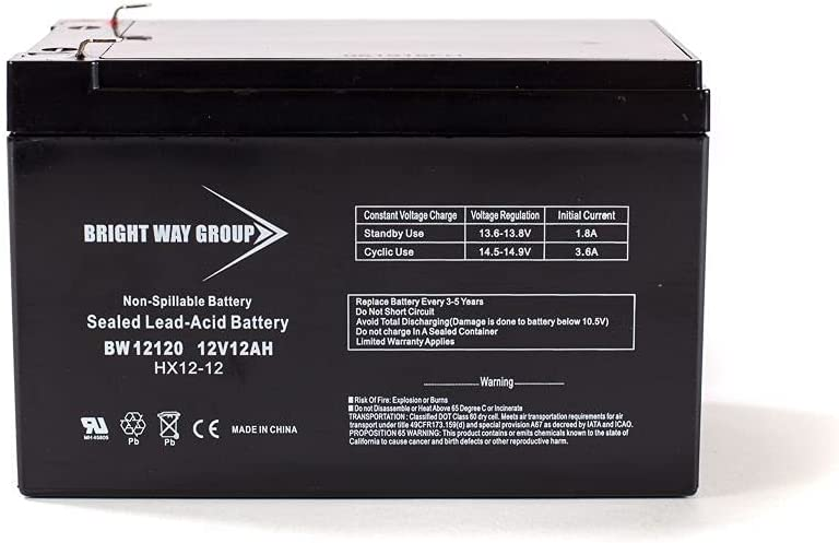 Bright Direct sale of manufacturer Way Replacement Battery for APC Austin Mall Smart-UPS 1 1000RM 12V BW