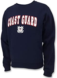 United States Coast Guard Arch Seal Crewneck Sweatshirt