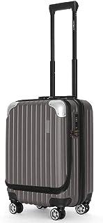 スーツケース【Sサイズ1~3泊に最適 36L 3.2kg JOYWAY 軽量 キャリーバッグ キャリーケース 旅行バッグ TSAロック TTL-006-ダークシルバー