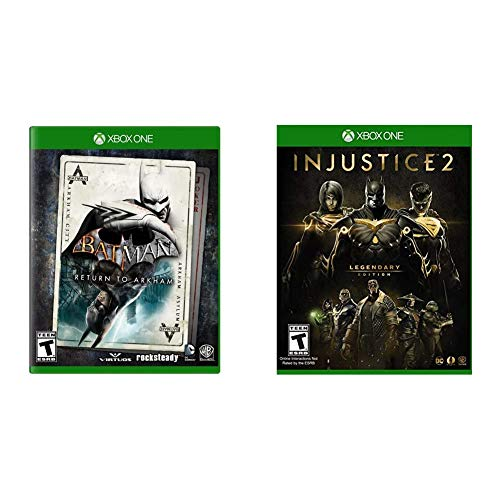 Batman: Return to Arkham - Xbox One & Injustice 2: Legendary Edition - Xbox One
