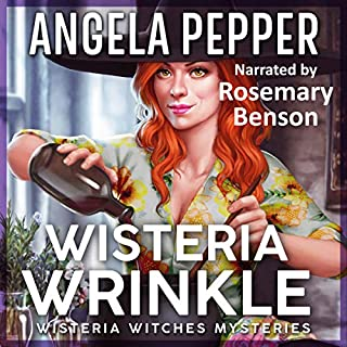 Wisteria Wrinkle audiobook cover art