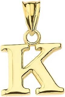 Best 14k gold k pendant Reviews