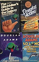 Douglas Adams 4 Book Set - The Hitchhikers Guide to the Galaxy - Life,The Universe and Everything - So Long, And Thanks fo...
