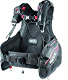 SEAC Ego Scuba Diving BCD (Black/Red, X-Large)