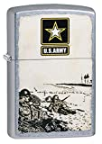 "Genuine Zippo windproof lighter with distinctive Zippo ""click"" All metal construction; Windproof design works virtually anywhere Refillable for a lifetime of use; For optimum performance, we recommend genuine Zippo premium fuel, flints, and wicks Mad..."