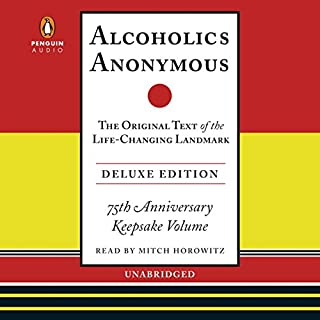 Alcoholics Anonymous Deluxe Edition audiobook cover art