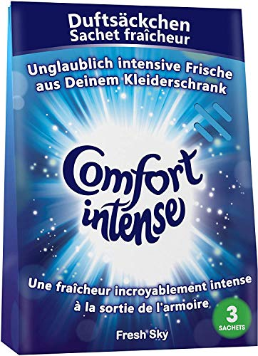 Comfort Intense Duftsäckchen, 1er Pack (enthält 3 einzeln verpackte Sachets / Duftsäckchen)