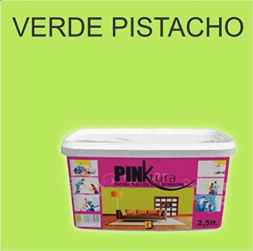 Pintura plástica Alta Decoración PINKTURA 2,5 litros (Verde Pistacho)