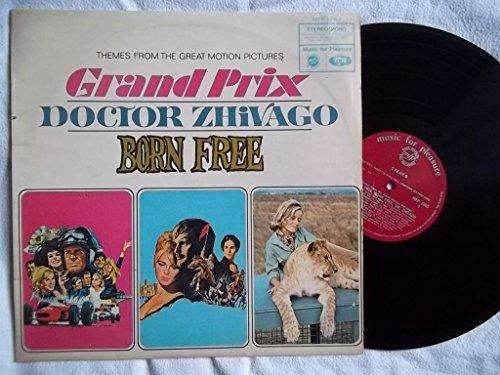 VARIOUS Grand Prix/Dr Zhivago/Born Free Soundtrack LP