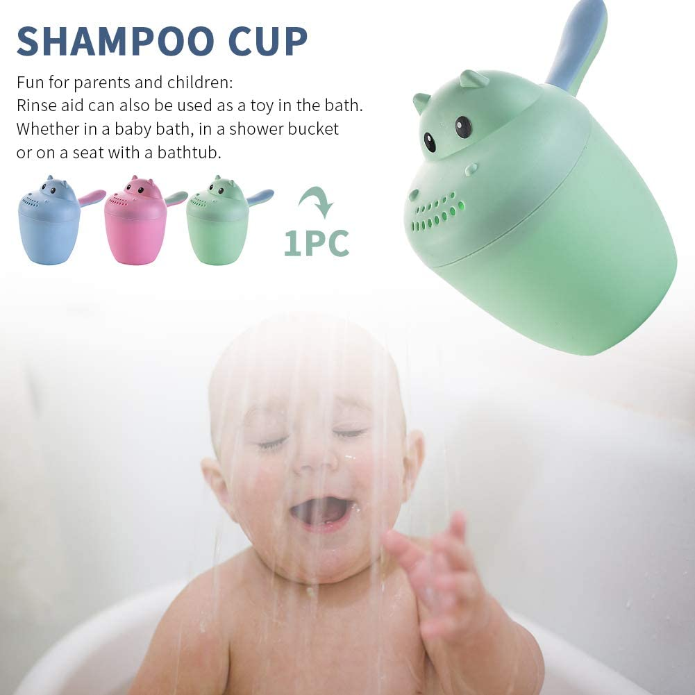 Rinse Shampoo RinserBaby Dippers Bath Rinse Cup Wash Hair Cup Shower Sprinkler,Baby Bath Rinser Pail to Wash Hair and Wash Out Shampoo