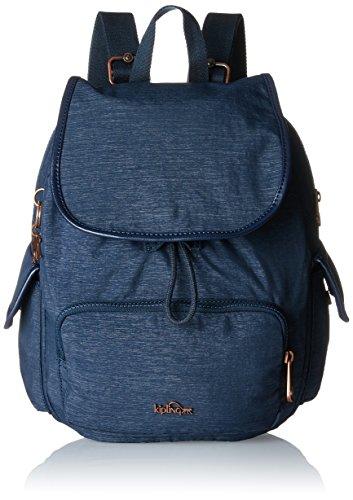Kipling - City Pack S, Mochilas Mujer, Blau (Spark Navy), 27x33.5x19 cm (B x H T)