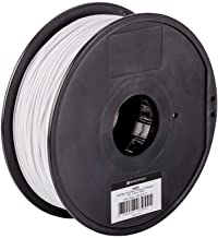 Monoprice PLA Plus+ Premium 3D Filament - White - 1kg Spool, 1.75mm Thick | Biodegradable | Same Strength As Standard ABS | For All PLA Compatible Printers