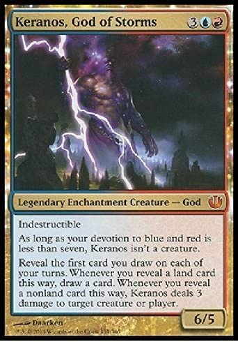 Magic Finally popular brand The Gathering - Keranos Popular products God Journey 165 in of Storms