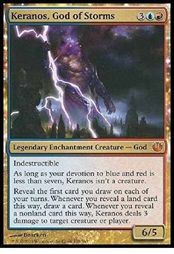 Magic The Gathering - Keranos, God of Storms (/165) - Journey into Nyx