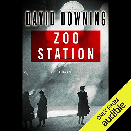 Zoo Station  audiobook cover art