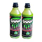 GOOP - Sellador de neumáticos (2 botellas de 500 ml)
