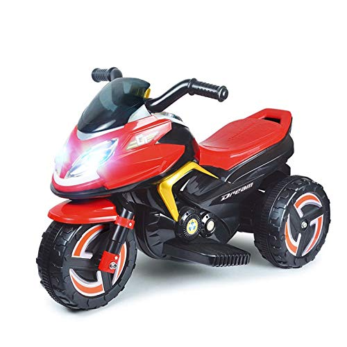 Toyshine Power Storm Battery Operated, Rechargeable Bike Ride-on for Kids, Assorted Color