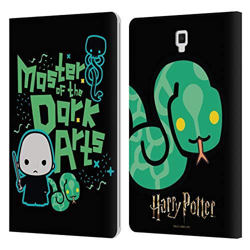 Head Case Designs Licenza Ufficiale Harry Potter Voldemort Deathly Hallows I Cover in Pelle a Portafoglio Compatibile con Galaxy Tab S4 10.5 (2018)