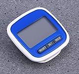 LEORX contapassi, funzione Multi-Display LED, Pedometro contapassi tascabile