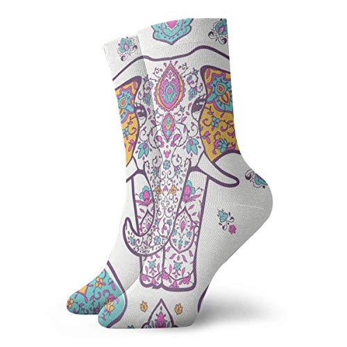 JL85hao Calcetines deportivos anclas, color negro, novedad, divertidos calcetines para hombre, mujer, unisex