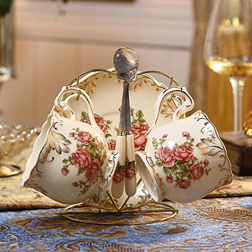 Mayanyan Kreative Keramik Tasse europäisch anmutenden Kaffeetasse Set britische Nachmittag Teetasse Geschenk box Anpassung