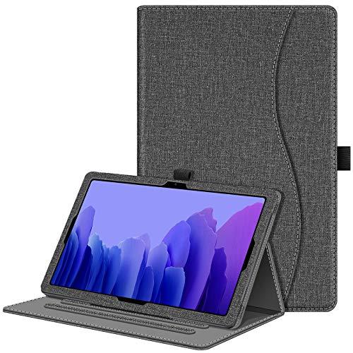FINTIE Custodia per Samsung Galaxy Tab A7 10.4'' 2020 SM-T500/505/507, Multi-angli Stand Case Cover con Tasca e Auto Sveglia/Sonno Funzione, Grigio