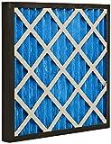 GVS Filter Technology G4P.24.24.4.SUA001.005 G4 Filtro a pannello plissetato, Blu/Bianco (scatola da 5)