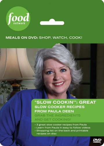 Food Network Meals on DVD: Shop, Watch, Cook! Slow Cookin': Slow Cooker...