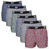 Lower East American Style Boxershorts, Mehrfarbig Classic Karriert), X-Large (Herstellergröße: XL), 6er-Pack