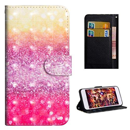 HiKing per Nokia 2.1 Custodia, con Cinturino da Polso Magnetico Snap-on Bookstyle Internamente Silicone TPU Custodie Case in Pelle Protettiva Flip Cover - Tigre di Gatto