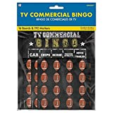 Amscan Football Commercial Bingo, 10' x 7', Multicolor