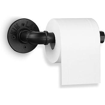 Iron Metal Kitchen Tissue Holder Hanging Toilet Roll Paper Holder Towel Rack Kit