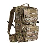 Tasmanian Tiger Combat Pack Mk II, 22L Compact Tactical MOLLE Backpack with YKK RC Zippers, MultiCam