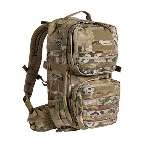 Tasmanian Tiger TT Combat Pack MKII Molle-Kompatibler EDC-Daypack mit vielen Fächern Militär-Rucksack für Damen und Herren 22L Volumen, Multicam