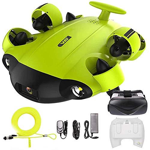 QQ HAO Drone Bajo El Agua Movimiento Omnidireccional 4K UHD Cámara Soporte Control En Tiempo Real De Gafas VR