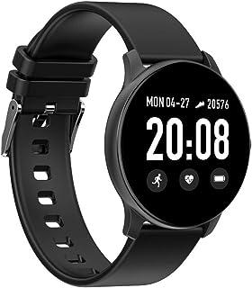 Zwbfu Magic Smart Watch 1.3 '' 240 * 240 Pantalla TFT Pulsera Inteligente BT4.0 Fitness Frecuencia cardíaca Presión Arterial Oxígeno sanguíneo Dormir Monitoreo Múltiples Modos Deportivos