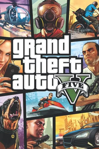 Grand Theft Auto V Notebook: - 6 x 9 inches with 110 pages