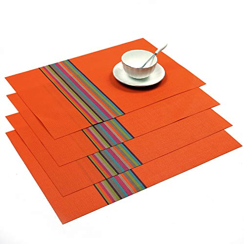 Top placemats orange for 2021