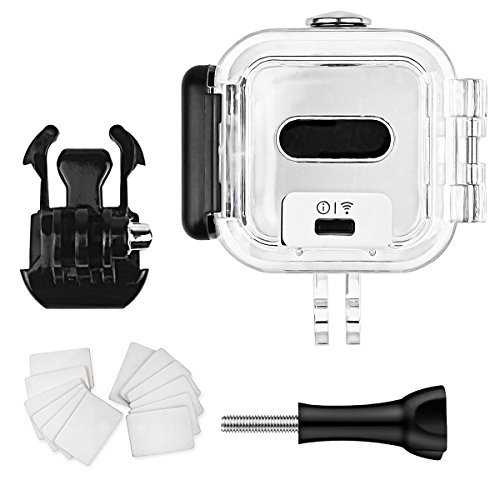 FitStill 60M Dive Housing Case for GoPro Hero 5 Session Waterproof Diving Protective Shell with Bracket Accessories for Go Pro Hero5 Session & Hero Session