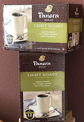 2 boxes Panera Bread LIGHT ROAST K-cups - 24 Pods (READ LISTING)