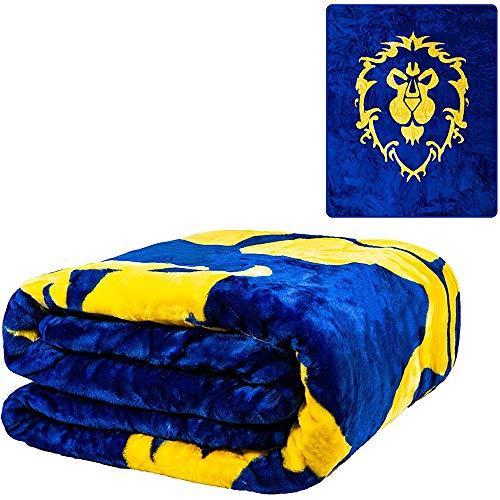 utong Offiziell Decken und Würfe Zwilling und Königin Gewicht Bettwäsche Decke Wow Horde Legion Spiele Rüstung Zwilling