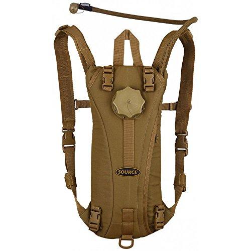 Source Tactical Bolsa de hidratación, Hombre, Beige (Coyote), 3 l