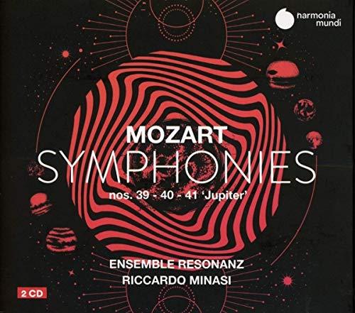 Mozart: Sinfonien Nr. 39 40 & 41 (Jupiter)
