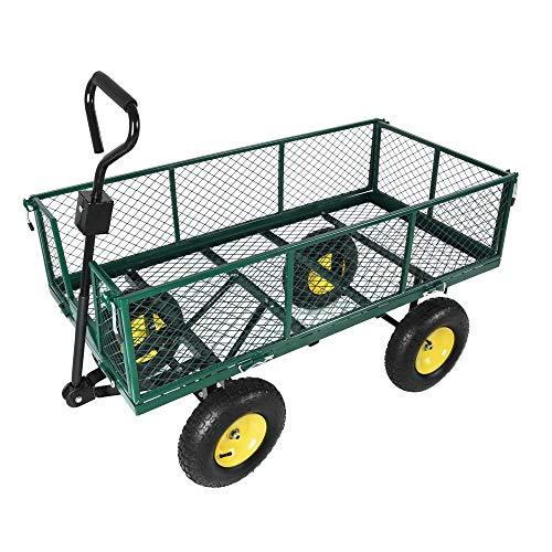 Tinke Handwagen Bollerwagen Gartenwagen 500kg Metall Transportwagen