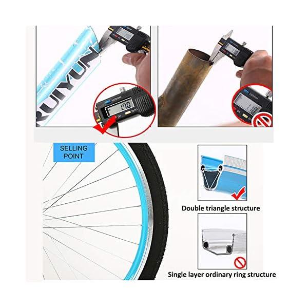 Comfort Bikes GHH 24″ Women's Bicycle Lightweight 6 Speed Ladies bike Pink With lock Basket Flashlight, Inflator, installation tool