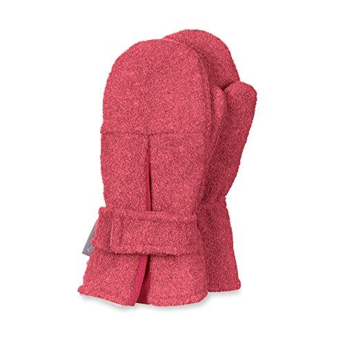 Sterntaler Kinder Mädchen Micro-fleece Handschuhe Gr.1-3 Fäustlinge neu!, Farbe:lachs, Größe:3
