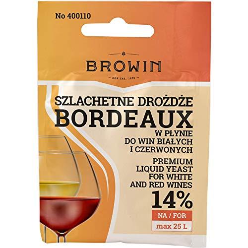 Levadura de vino – Bordeuax 20 ml | Browin | Levadura líquida | Levadura de vinificación | Levadura viva